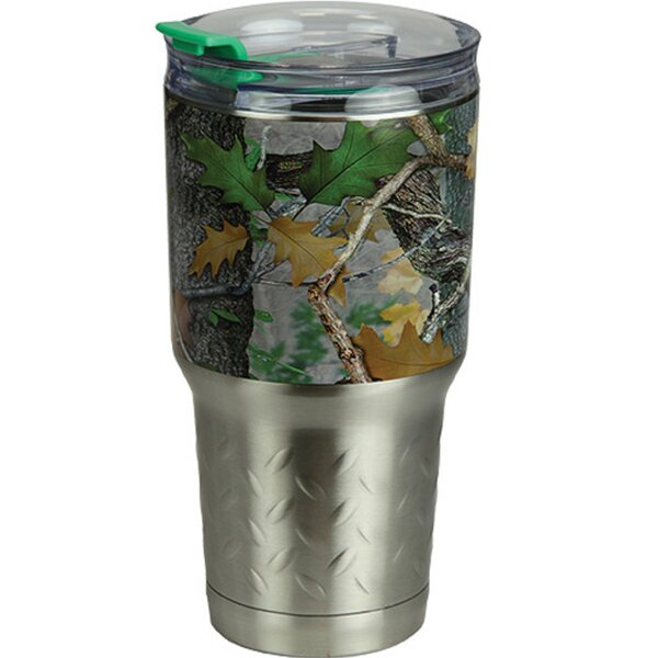 Wangaratta Camo 24 oz. Stainless Steel Travel Tumbler by Millwood Pines