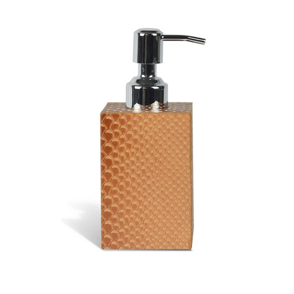 Genuine Leather Soap / Lotion Dispenser by Rembrandt Home