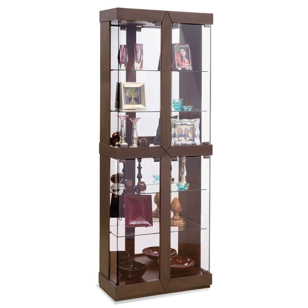 Rohe I Lighted Curio Cabinet by Philip Reinisch Co.