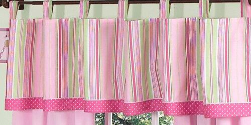 Jungle Friends Tab Top 84 Curtain Valance by Sweet Jojo Designs