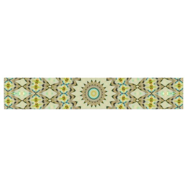 Iris Lehnhardt Kaleidoscope Table Runner by East Urban Home