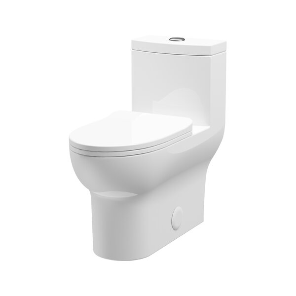 Laura 1.2 GPF Elongated One-Piece Toilet by A&E Bath and Shower