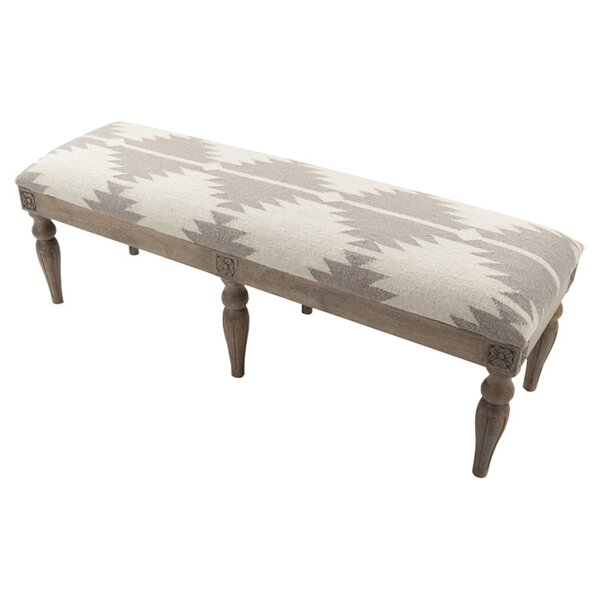 Allisin Upholstered Bench by Latitude Run