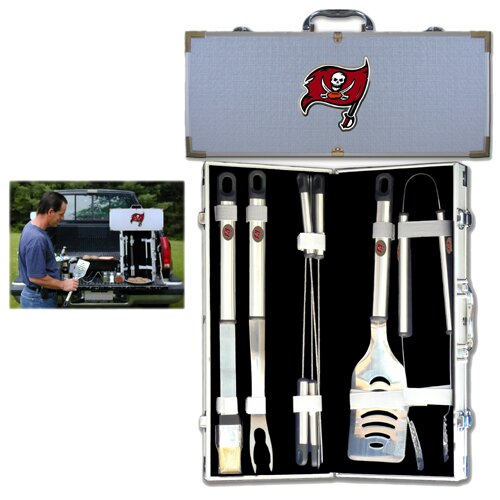 NFL 8 Piece Grilling Tool Set by Siskiyou Gifts