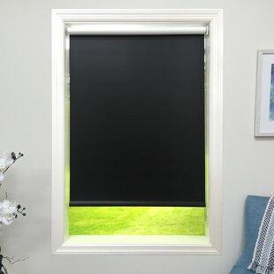 28082649467 Blackout Black Roller Shade