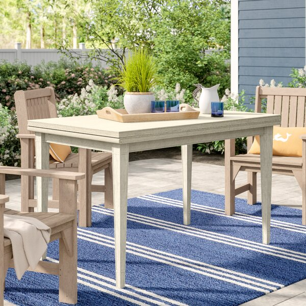 Gilboa Extendable Dining Table by Beachcrest Home