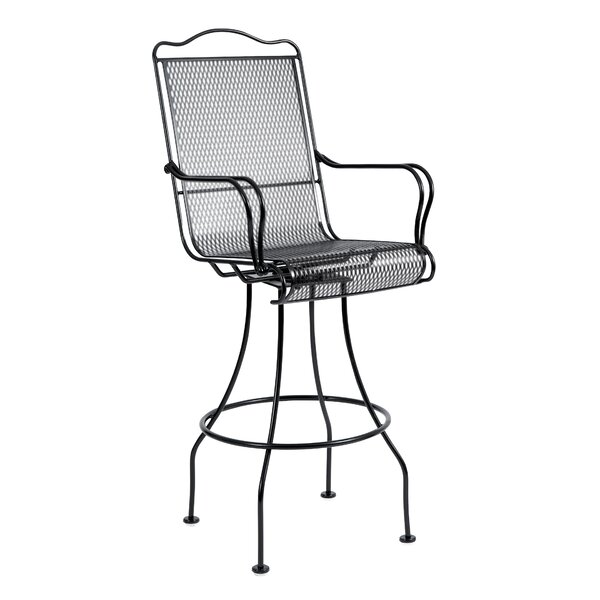Tucson Swivel 30.3 Patio Bar Stool by Woodard