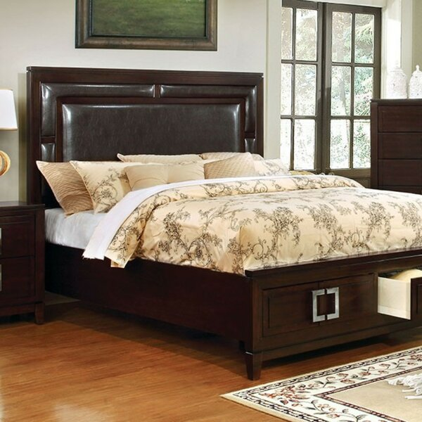 Roark Queen Upholstered Storage Platform Bed by Alcott Hill