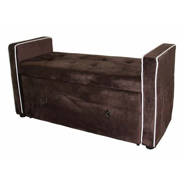 McGregor Upholstered Storage Bench by Red Barrel Studio