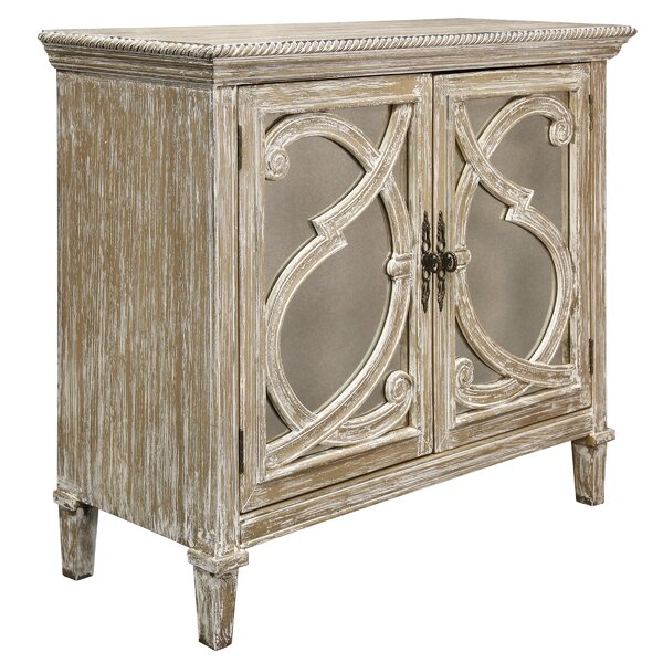 Southfield Mirrored Front 2 Door Accent Cabinet by Rosdorf Park Rosdorf Park