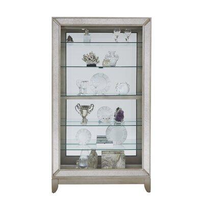 Acubens Lighted Curio Cabinet
