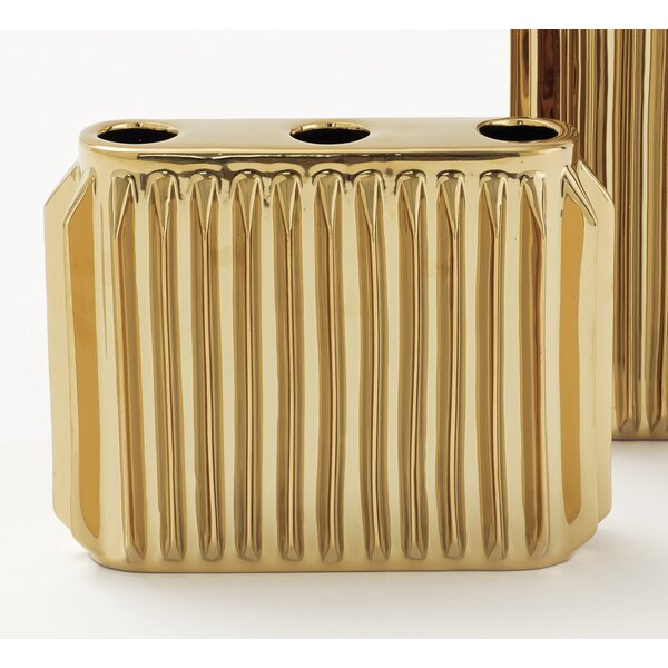 Andros Small Ceramic Vase by DwellStudio