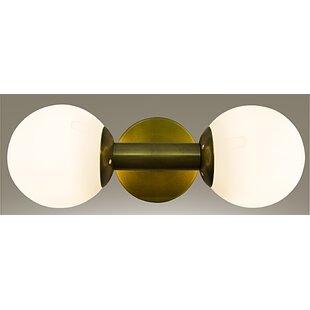 Coupon Antiope 2-Light Bath Bar By Noir