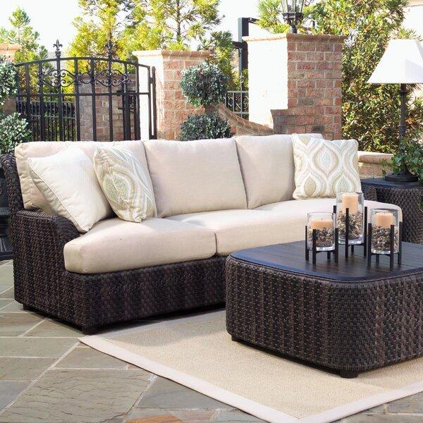 Aruba Patio Sofa with Cushions by Woodard Woodard