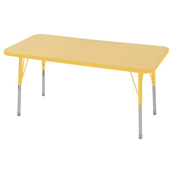 36 x 24 Rectangular Activity Table by ECR4kids