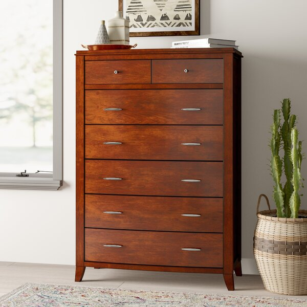 Travis 7 Drawer Chest by Mistana