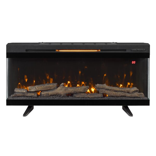Roven Wall Mounted Electric Fireplace By Latitude Run