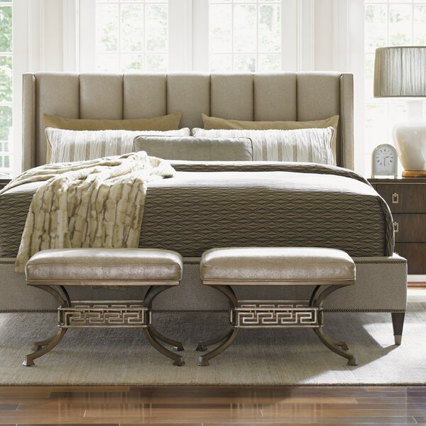 Tower Place Upholstered Panel Bed by Lexington