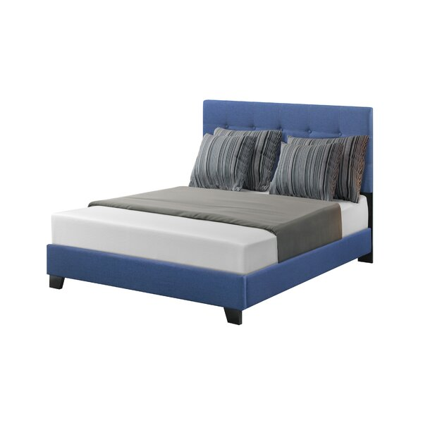 Linville Upholstered Standard Bed by Charlton Home
