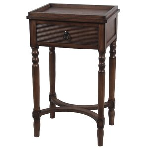 Brook Lane End Table with Drawer by Alcott H..
