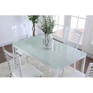 Glass Rectangular Kitchen U0026 Dining Tables