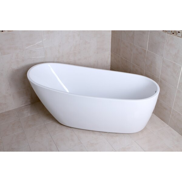 Aqua Eden 68.13 x 30.5 Soaking Bathtub by Kingston Brass