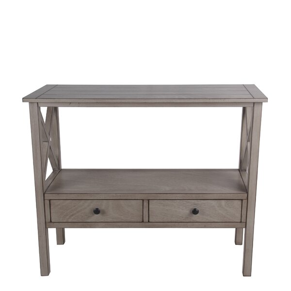 Kingsford 2 Drawer Console Table by Gracie Oaks Gracie Oaks