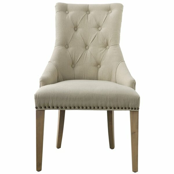 Olivet Upholstered Dining Chair by Gracie Oaks