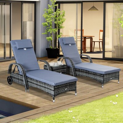 Aluminum Chaise Lounge Wayfair