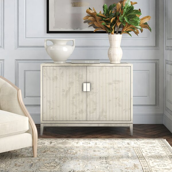 Kathie German 2 Door Accent Cabinet by Everly Quinn