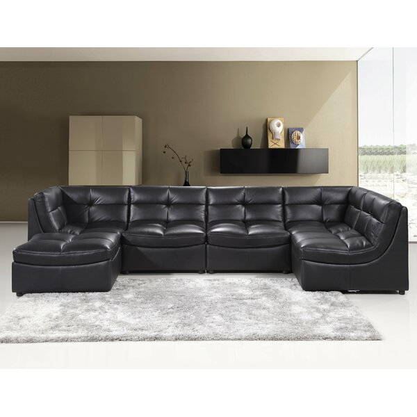 Laquecia Modular Sectional With Ottoman By Orren Ellis Best #1