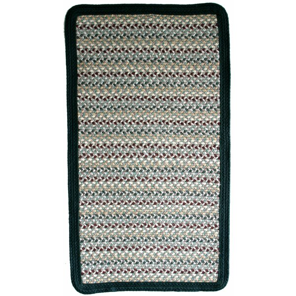 Green Mountain Balsam Fir Green Stripes Area Rug by Thorndike Mills