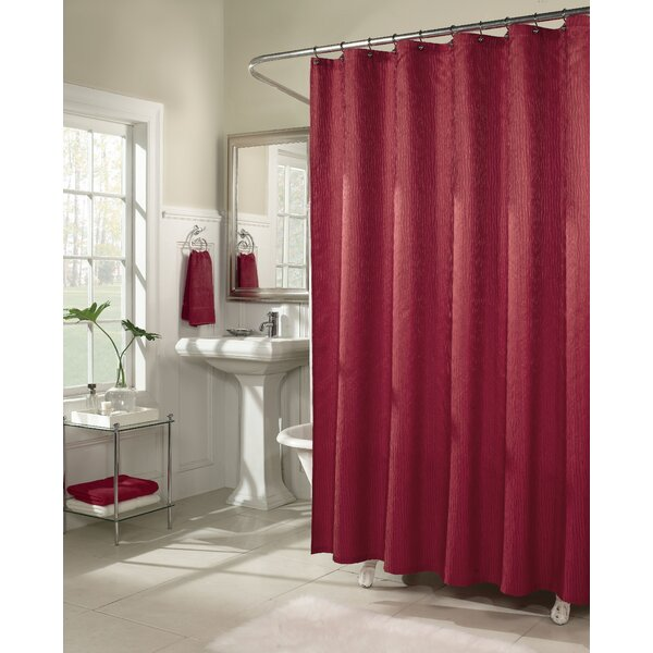Malone Shower Curtain by Three Posts