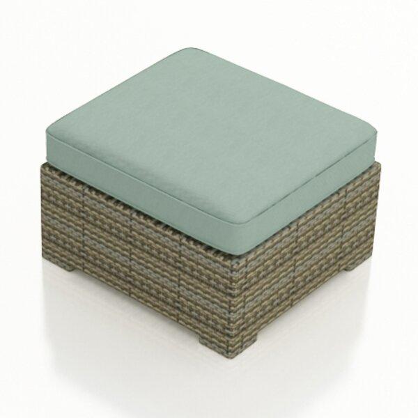 Dasaki Ottoman with Cushion by Wrought Studio