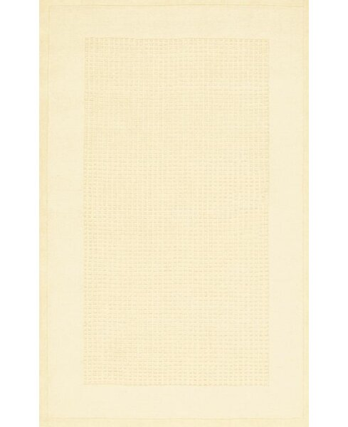 Aspasia Hand-Tufted Ivory Area Rug by Ebern Designs