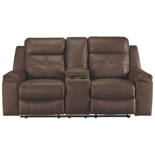 Recommend Saving Pinnix Reclining Loveseat by Red Barrel Studio by Red Barrel Studio