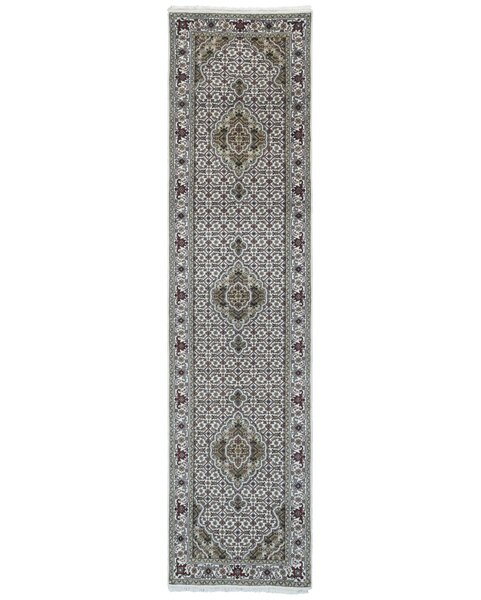 One-of-a-Kind Joanna Oriental Hand-Knotted Beige/Green Area Rug by Astoria Grand