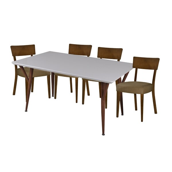 Hoosier 5 Piece Dining Set by George Oliver