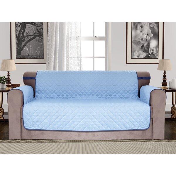 Diamond Reversible Sofa Slipcover By Red Barrel Studio