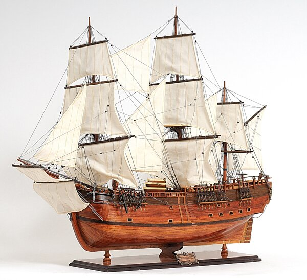 HMS Endeavour Model Ship by Old Modern Handicrafts
