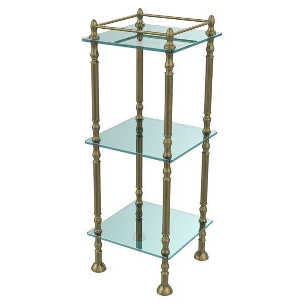 14 W x 38 H Bathroom Shelf by Allied Brass