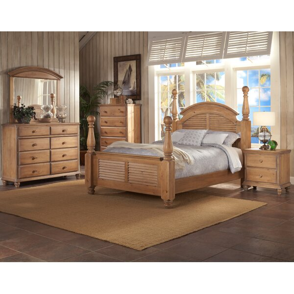 Irish Countryside Four Poster Configurable Bedroom Set by Minick Wood Products
