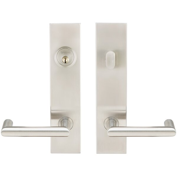 Stuttgart Double Cylinder One Piece Leverset by INOX®