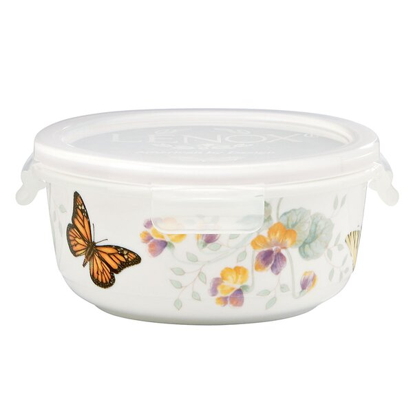 Butterfly Meadow 16 oz. Serving Bowl with Lid by Lenox