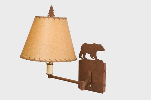 Bear Swing Arm Lamp by Steel Partners