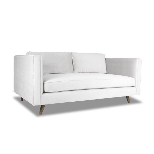 Mukatiwala Plush Deep Sofa by Latitude Run