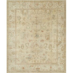 Great Price Abelard Hand-Knotted Stone Area Rug By House of Hampton