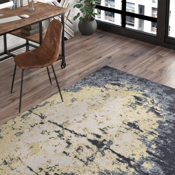 Hyannis Charcoal/Beige Area Rug by Trent Austin Design