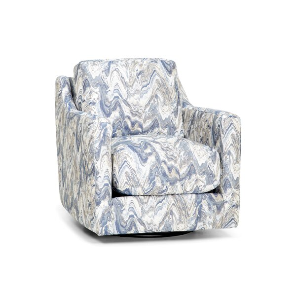 Roxanna Swivel Armchair by House of Hampton