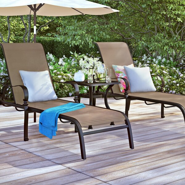 Curacao Chaise Lounge Set by Sol 72 Outdoor